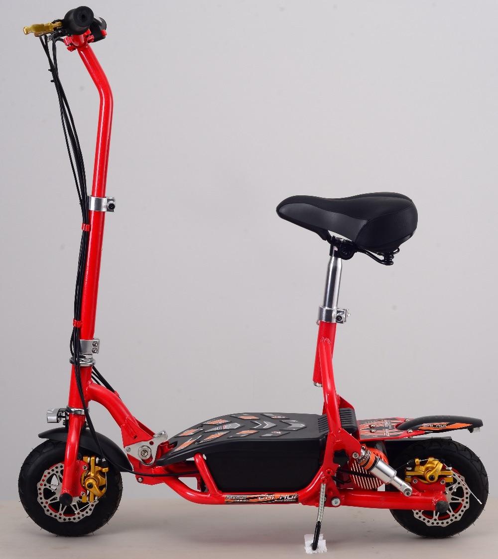Электрический Скутер 300 Вт 24V складной Детский самокат для взрослых Спорт и Отдых самокаты литиевая батарея скейтборд