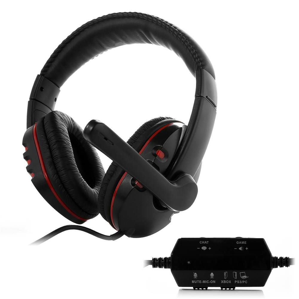 huhd hg 669mv wired gaming headset headphone for ps4 ps3 and xbox 360 pc compatible with xbox. Black Bedroom Furniture Sets. Home Design Ideas