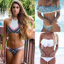 TCBSG Bikinis 2017 Sexy Swimwear Women Swimsuit Push Up Brazilian Bikini set Bandeau Summer Beach Bathing Suits female Biquini