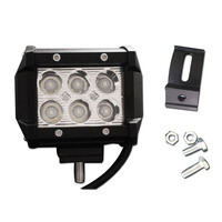 4 Inch 18W LED Work Light Lamp For Motorcycle Tractor Boat Off Road 4WD 4x4 Truck