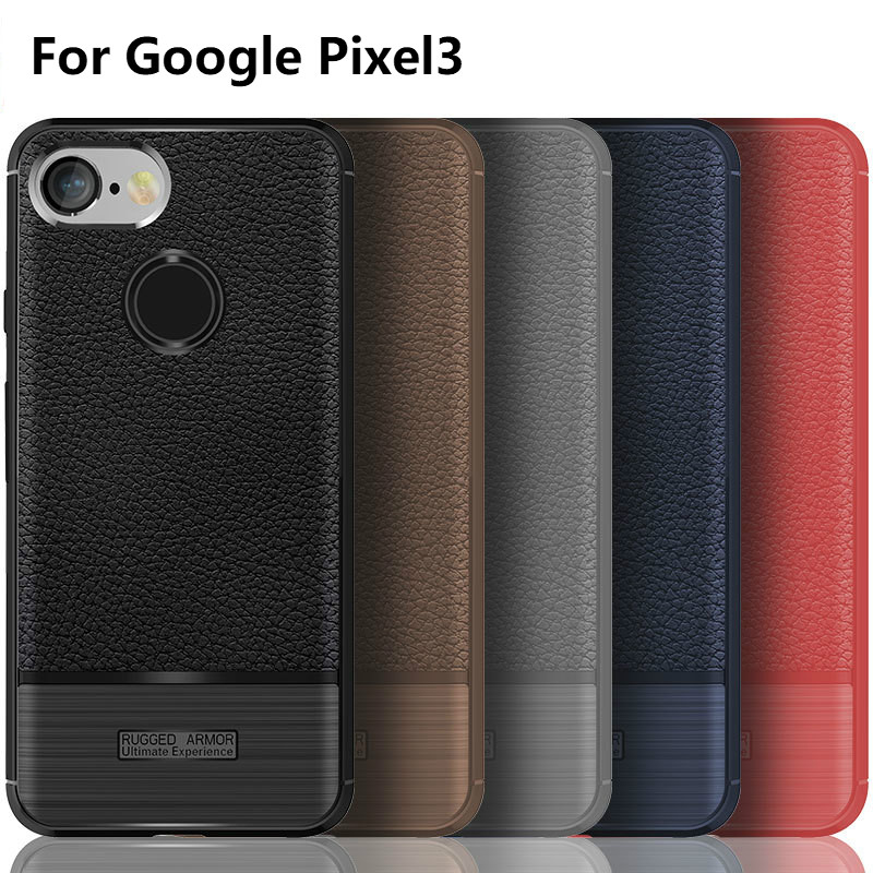 For Google Pixel 3 Case Google Pixel3 Cover On For Google Pixel3 Original Silicone Soft Business Mix Hybrid Protective Shell