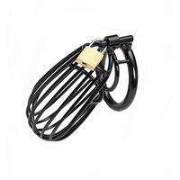 Qise два Размер 4/5 см Целомудрие устройства дышащий Металл Целомудрие Стальная проволока Cage кольцо пениса Секс-игрушки для Для мужчин