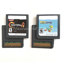 Contra 4 Yohis_Island HeartoldSoulSilveBlack 1 2White 1 2English Language US Version Video Game Cartridge