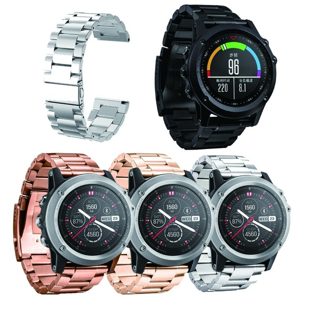 s watch is image fenix garmin sapphire watches gps metal itm suede champagne multisport loading white