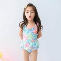 2018 Fashion Newborn Kid Baby Girls Bikini Floral Print Swimwear Summer Sleeveless Swimsuit I Bathing Suit