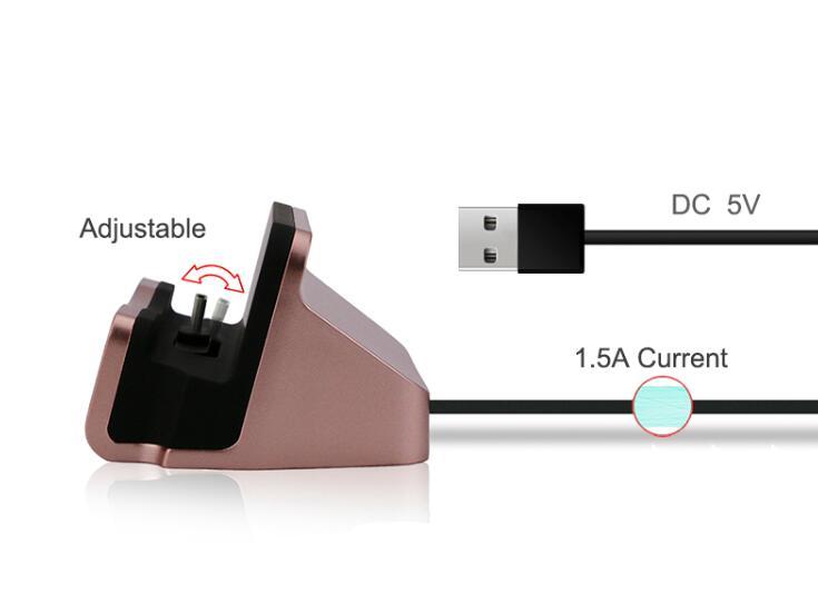 Snabbladdning USB-typ Dockstation för Oneplus 6 5T 5 3T 3 2 1 Zuk Z1 - Reservdelar och tillbehör för mobiltelefoner - Foto 3