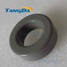Tangda Iron powder cores T157-3 OD*ID*HT 40*24*15 mm 42nH/N2 35uo Iron dust core Ferrite Toroid Core toroidal gray