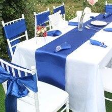 """OurWarm атласные настольные дорожки для свадьбы 1"""" x 108"""", разные цвета для украшения свадебного стола, вечерние принадлежности, домашний текстиль"""