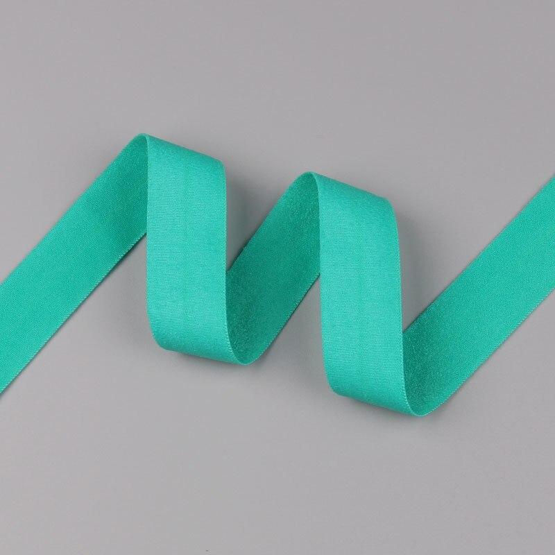 5 ярдов/Лот 20 мм ширина 34 цвета эластичная лента использование для diy аксессуары и одежда галстук лента для волос - Цвет: 32