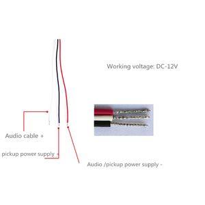 Image 5 - Âm Lượng Đầu Ra Có Thể Điều Chỉnh Đặc Biệt MIC Micro Mô Đun Âm Thanh Thu Adapter Mô Đun Với Tiền Khuếch Đại Cho Camera Quan Sát IP Accesso
