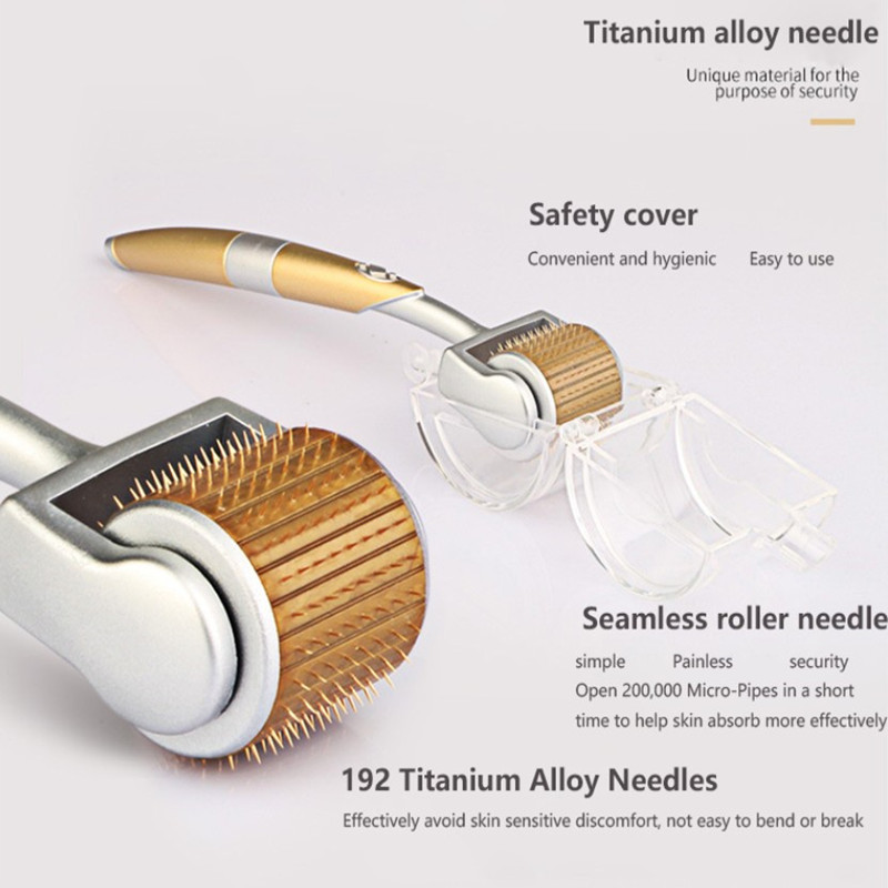 new-Professional-Titanium-ZGTS-Derma-Roller-192-needles-for-face-care-and-hair-loss-treatment-CE (2)