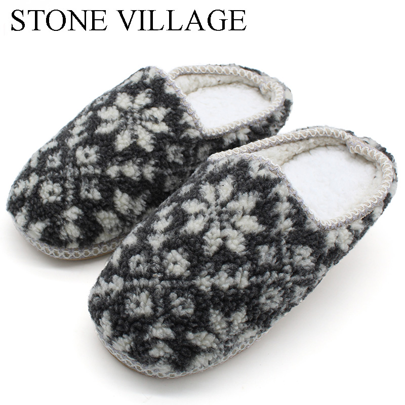 STONE VILLAGE High Quality Flower Print Men Slippers Shoes  Soft Bottom Warm Cotton Slippers Indoor Shoes Men Large Size 27.5cmSTONE VILLAGE High Quality Flower Print Men Slippers Shoes  Soft Bottom Warm Cotton Slippers Indoor Shoes Men Large Size 27.5cm