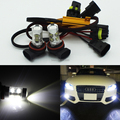 Free shipping, 2x H11 High Power LED Projector car styling Fog Light DRL 50W No Error For Audi A3 A4 A5 S5 A6 Q5 Q7 TT