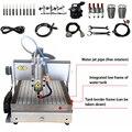 2.2KW CNC 6040 машина для резки металла бак для воды USB/параллельный порт маршрутизатор гравер