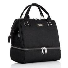 купить Mummy Maternity Nappy Bag Large Capacity Diaper Changing mat Baby Bag Multifunctional Nursing Bag Waterproof Travel Backpack дешево