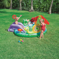 Inflatable Pool Baby Bath Basin Ball Play Ground swimming pool fishing thickening Basin toy