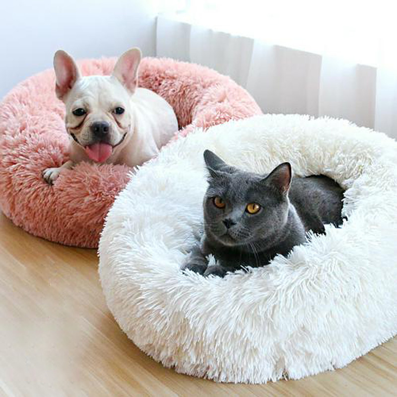 Candy Color Round Dog Bed Mats Winter Warming Super Soft Plush Pet Cats House Pads Washable Lounger Sofa for Small Medium Dogs Candy Color Round Dog Bed Mats Winter Warming Super Soft Plush Pet Cats House Pads Washable Lounger Sofa for Small Medium Dogs