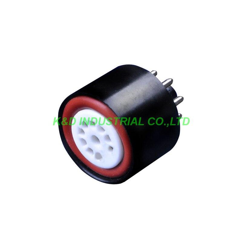 1 pc 12AX7 12AU7 à 6SN7 6SL7 Tube Adaptateur Convertisseur Socket Pour 9pin à 8pin tube