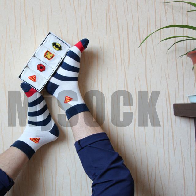4-pairs MARVEL Socks sz 8-12