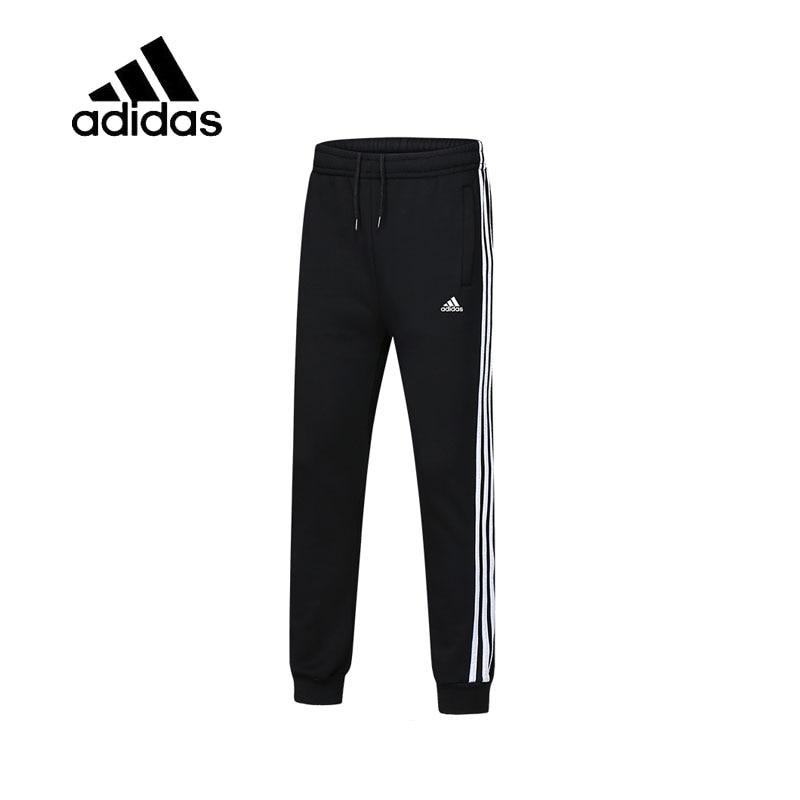 цена Original New Arrival Authentic Adidas Male Black Leisure Sportswear Men's Full Length Running Pants Breathable Quick Dry BP8742