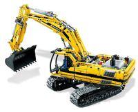 Технология MOC серии Caterpillar зоне строительства строительные блоки 1123 шт. кирпичи игрушки подарок Совместимость с Legoings техника