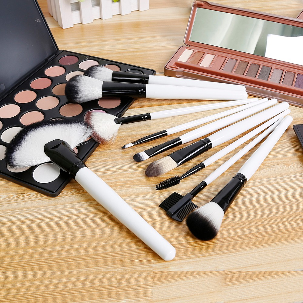 makeup brushers set