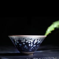 Coffee mug Jianyang Jianye iron tire freckle oil drop tea jianye Kung Fu teacup ceramic tea set master cup mugs 5ZJ21
