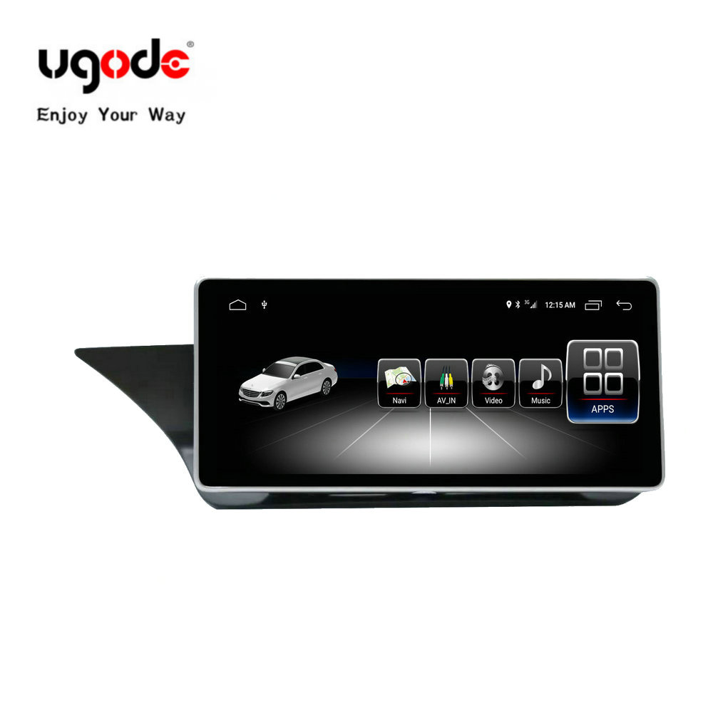"Ugode Car GPS Navigation 10.25"" IPS Touch Screen GPS Android 7.1 Navigator for E class W212 S212 E300 2G 32G(China)"