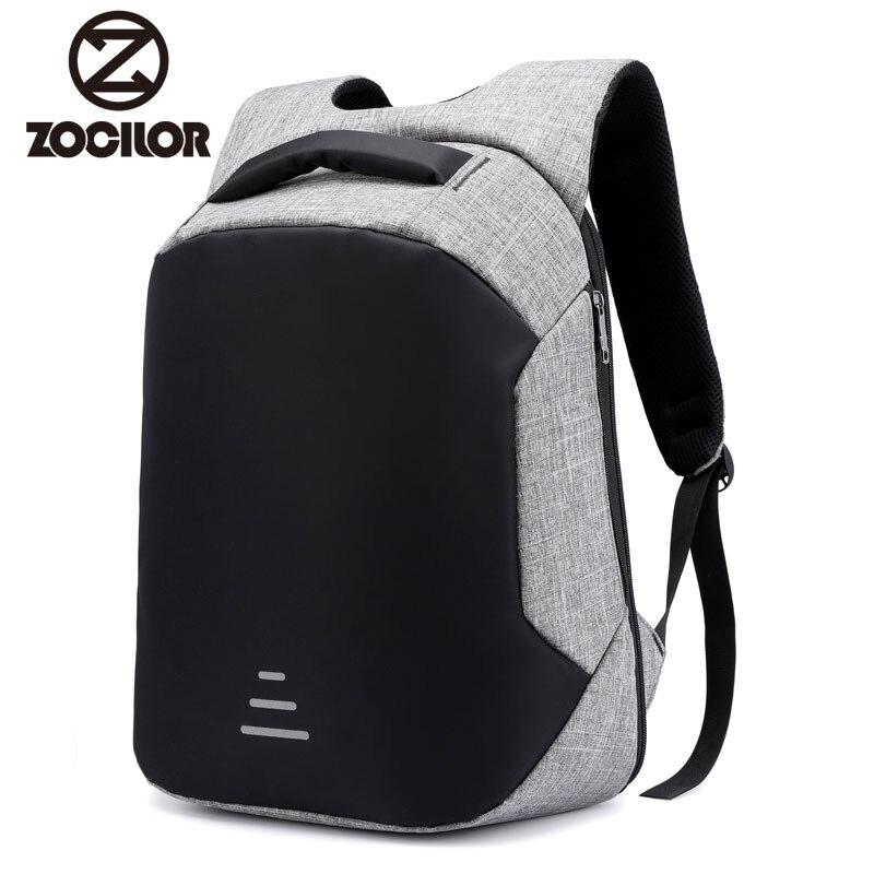 Generación USB carga antirrobo mochila hombres 15 pulgadas portátil mochilas moda escuela bolsos mochila sac a dos mochila