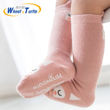New Kids Socks Toddlers Girls Big Bow Knee High Long Soft Cotton Lace baby kniekousen