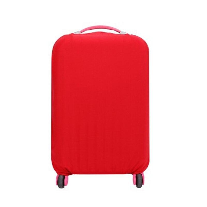 Couleur de sucrerie anti-poussière voyage bagages couvre protéger la poussière élastique chariot valise tronc de protection anti-poussière couverture 18 20 22 28''