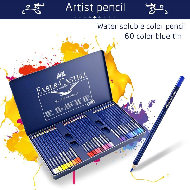 Faber-Castell Colored Pencils For Kids 12/24/36/60 Colors Cute Stationery Prismacolor Colored Pencils for Drawing Artist Pencil faber orizzonte eg8 x a 60 active