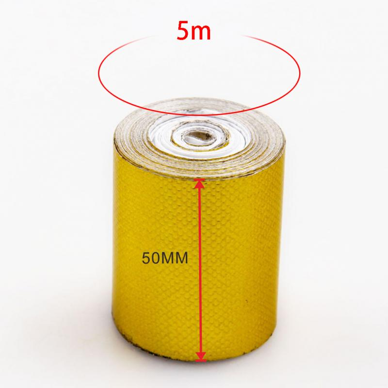 100mm x 10M The Gold Thermal Barrier Adhesive Backed Heat Reflective Tape Roll