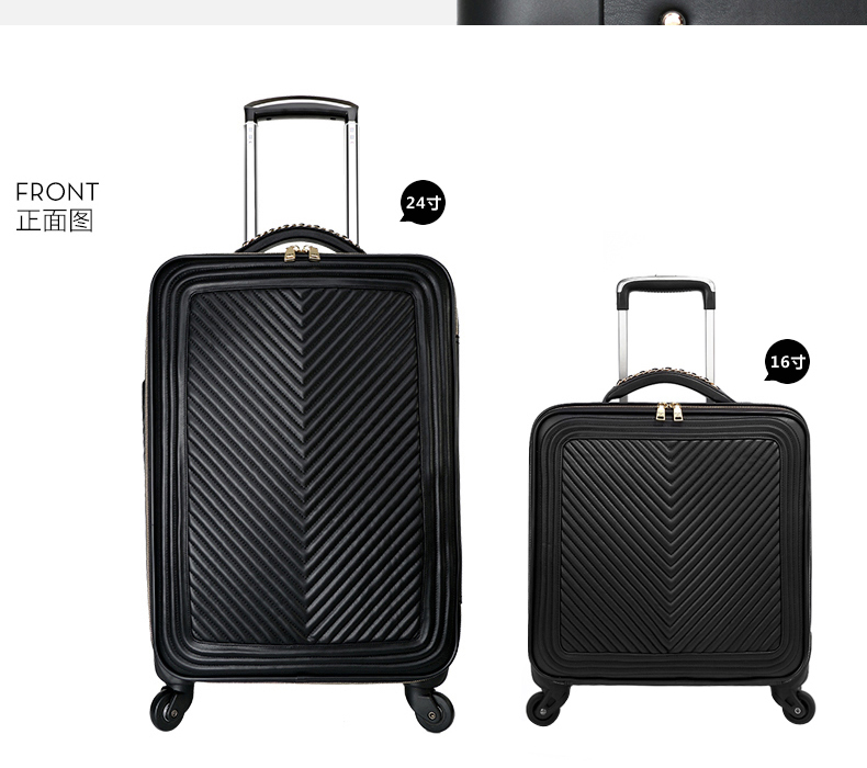 CARRYLOVE 16/20/24 inch The most fashionable, high quality PU Rolling Luggage Spinner brand Travel SuitcaseCARRYLOVE 16/20/24 inch The most fashionable, high quality PU Rolling Luggage Spinner brand Travel Suitcase
