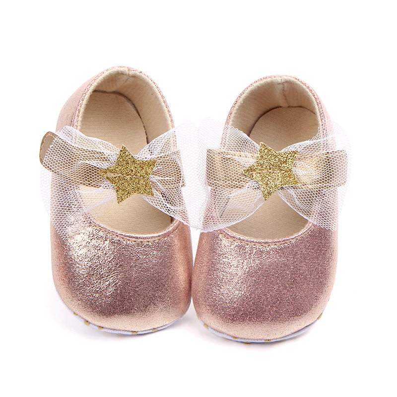 2018 New lovely KIDS bed shoes 1pair Sequin Baby First Walkers Girl Shoes+AGE3-12 M,antiskid toddlers/Newborn Pre-walker