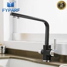 Кухонный Смеситель fyparf с фильтрованной водой кран из латуни
