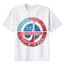 9a259b57 the ussr cccp TShirt men boy Summer O Neck white youth t shirt casual white  print anime t-Shirts men top tees MR4565