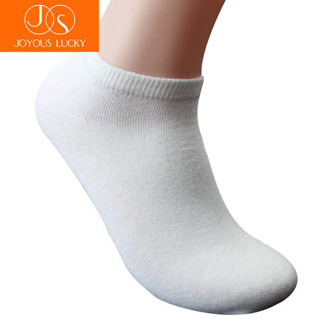 JOYOUS LUCKY 5 pairs/lot men cotton socks 45 46 47 48 49 50 Plus size thin men Sock ankle socks male shallow shorts socks
