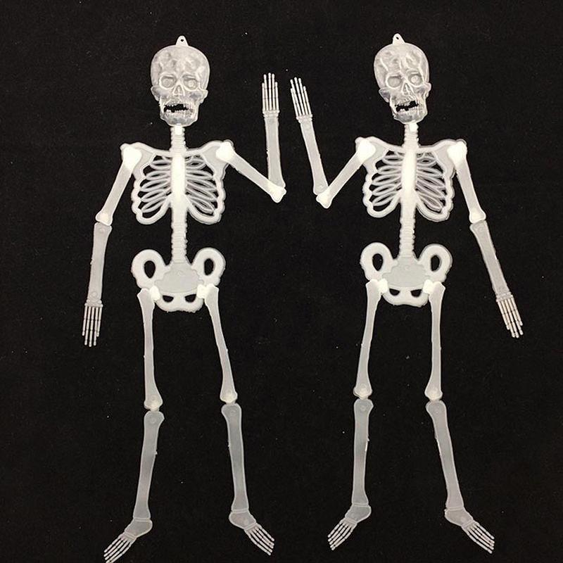 Ezlife nuevo resplandor luminoso en la oscuridad esqueleto humano ...