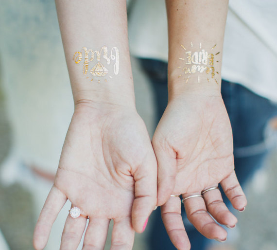 1pcs lovely team bride temporary tattoo bachelorette party 1pcs lovely team bride temporary tattoo bachelorette party accessories bridesmaid bridal shower wedding decoration party favor junglespirit Images