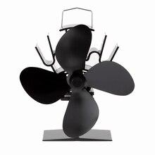 Анодирование дровяная ecofan алюминиевых экологичный dhl плита вентилятор черный