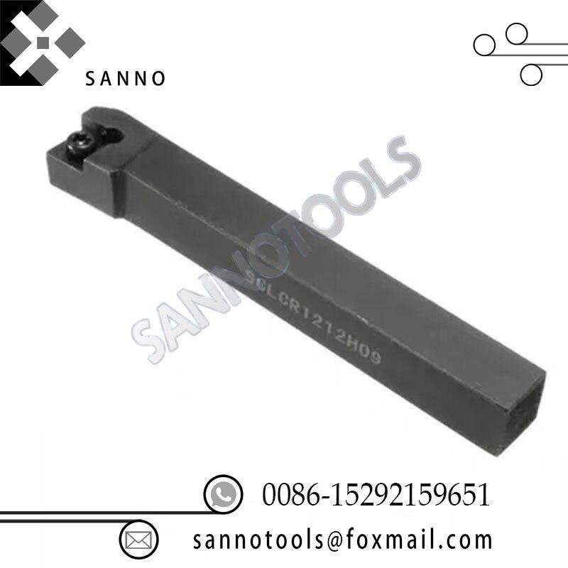 Metal lathe tool holders turning tool holder for external SCLCR0808F06 SCLCR1010H06 SCLCR1212H06 SCLCR1616H09 SCLCR2020K09