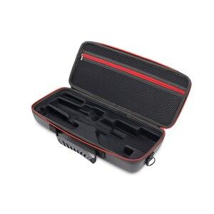 Image 1 - Жесткая Сумка для хранения, чехол из искусственной кожи, сумка на одно плечо, водонепроницаемая сумка для Zhiyun Smooth 4, ручной карданный футляр для аксессуаров