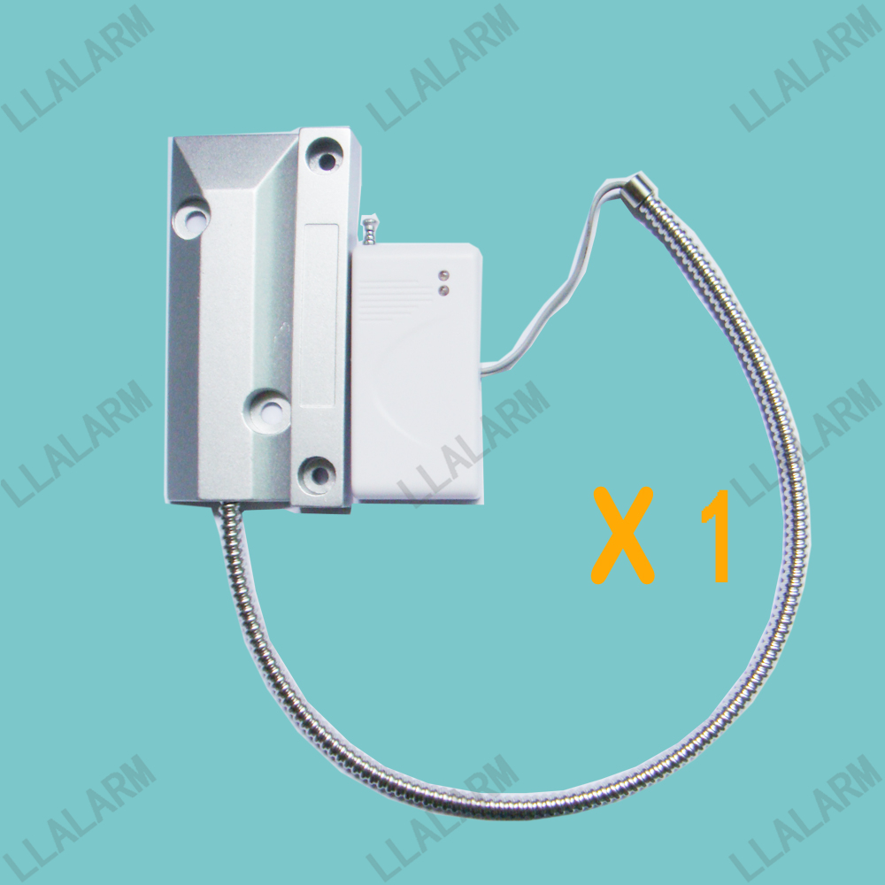 wireless metal rolling shutter gates garage door sensor for gsmpstn security burglar home alarm