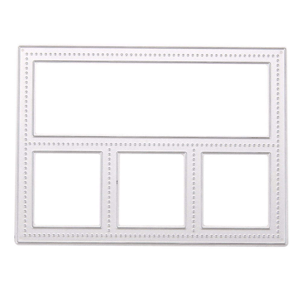 metal frame memory box cutting dies diy scrapbooking photo album diary decorative embossing folder stencil die