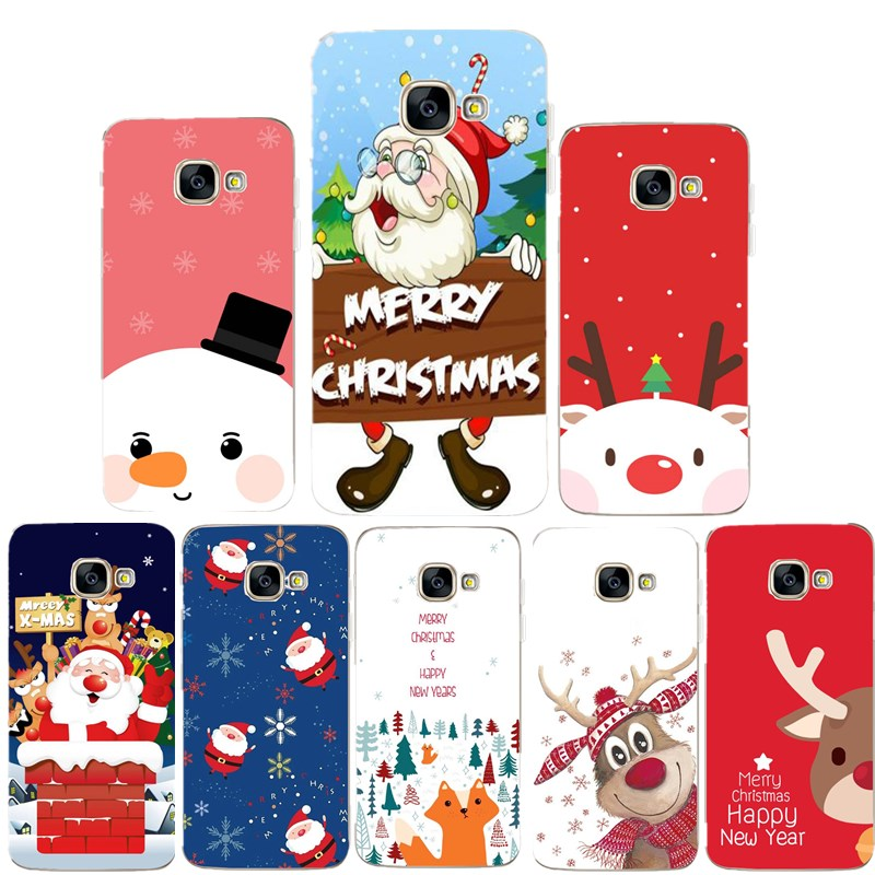 For font b Samsung b font Galaxy S9 S8 Plus Case Soft Merry Christmas Back Coque