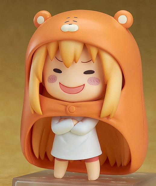 10cm Himouto Umaru-chan Nendoroid Umaru #524 Anime Action Figure PVC toys Collection figures for friends gifts 35