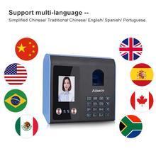 Интеллектуальная машина посещаемости лицо пароль отпечатка пальца распознавание смешанный биометрический таймер для сотрудников