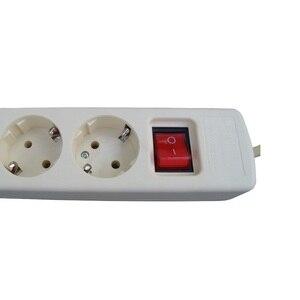 Image 2 - Euプラグ電源ソケット3/4/5/6穴電源ストリップ1.5メートルeu標準延長ソケットマルチ機能adaptador convertidorプラグ