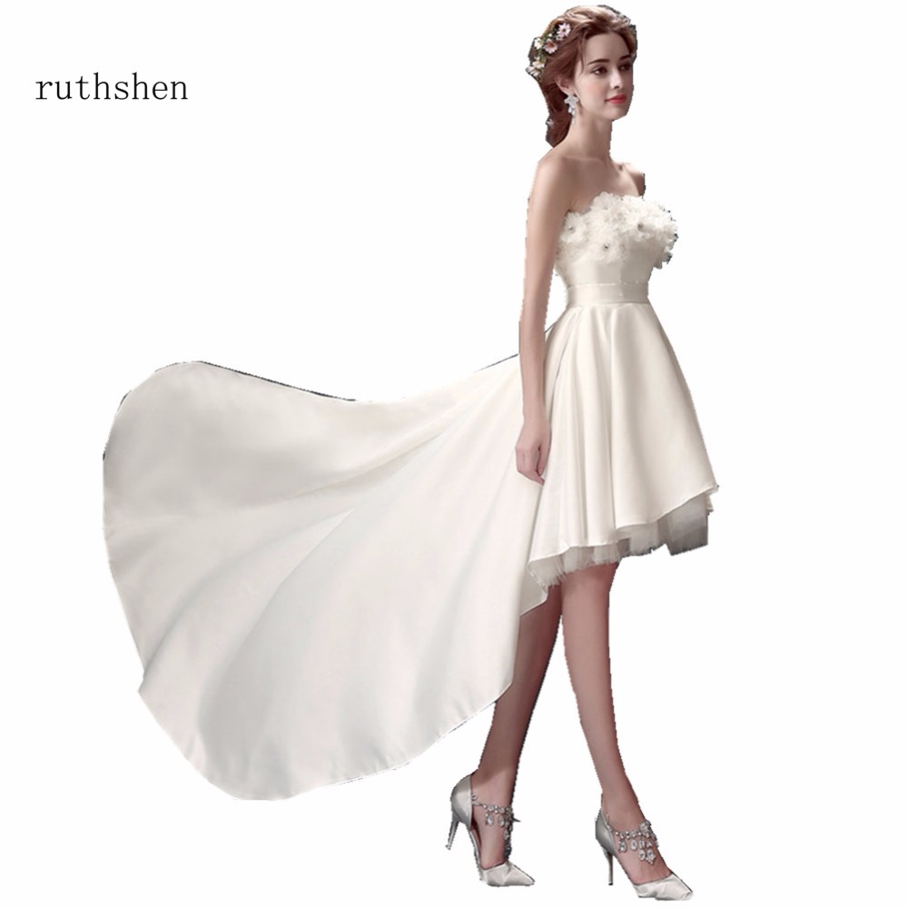 Cheap Elegant Wedding Dresses: Ruthshen Elegant Wedding Dresses Cheap Beaded Flowers